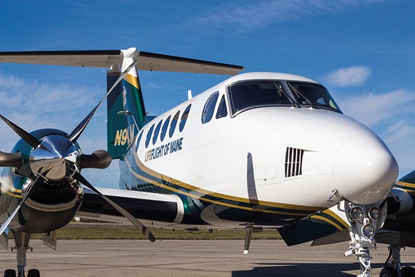 Maine Mission – Nonprofit Taps Local Resources to Convert  King Air into Air Ambulance