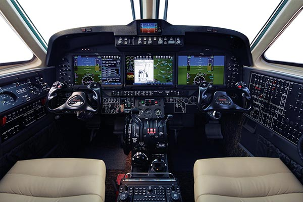 Value Added: FAA and EASA Approve Pro Line  Fusion-Equipped King Air C90GTx