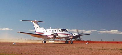 King Air Operation on Unimproved Landing Strips