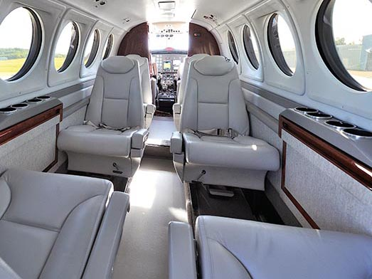 Pipeline For Communication King Air