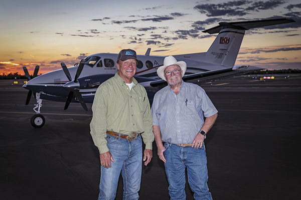 Farming, Friendship and the F90 A Winning Combination for King Air Owner Larry Hancock