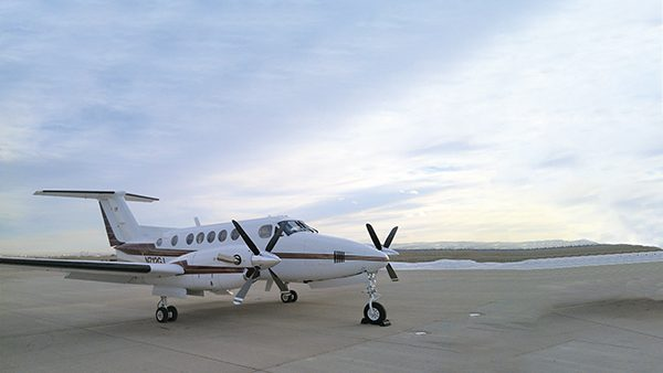 Rendezvous  in Riverton – Pilot connects two Wyoming families for King Air partnership