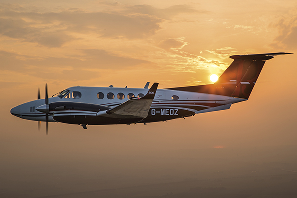 Seeing Things from a Higher Perspective – Zeusch Aviation Finding Broad Versatility with the King Air