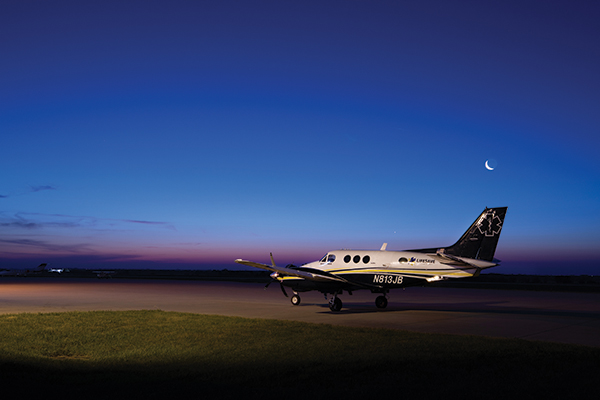 LifeSave(r)- King Air Proves to be a Perfect Patient Transport Aircraft